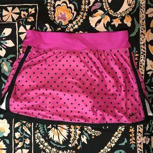 Nike Dy Fit Skort - Pink Polka Dot